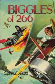 Biggles_of_266_cover