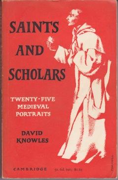 On My Bookshelf Saints And Scholars