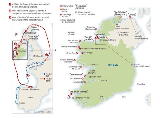 Armada map