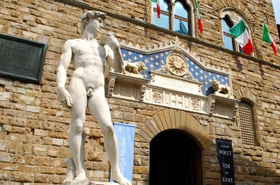 Florence-Piazza-della-signoria-michelangelos-david